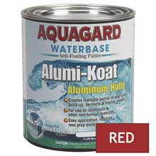AQUAGARD Ii alumi-koat waterbased quart red