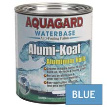 AQUAGARD Ii alumi-koat waterbased quart blue