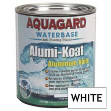 AQUAGARD Ii alumi-koat waterbased quart white