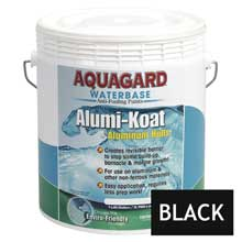 AQUAGARD Ii alumi-koat waterbased gallon black