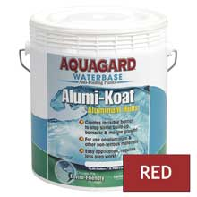 AQUAGARD Ii alumi-koat waterbased gallon red
