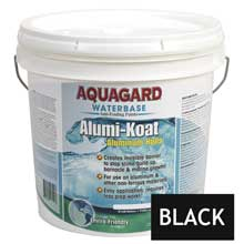 AQUAGARD Ii alumi-koat waterbased 2 gallon black