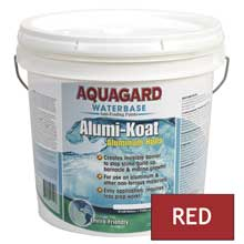 AQUAGARD Ii alumi-koat waterbased 2 gallon red