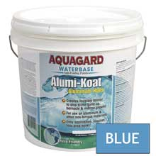 AQUAGARD Ii alumi-koat waterbased 2 gallon blue