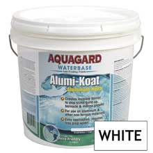 AQUAGARD Ii alumi-koat waterbased 2 gallon white