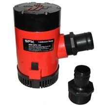 JOHNSON PUMP 4000 gph bilge pump 1-1/2inch discharge port