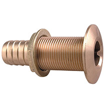 PERKO 1-1/8 inch Thru-Hull Fitting f/ Hose Bronze Made in the USA