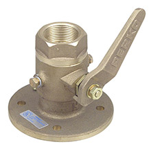 PERKO 3/4 inch Seacock Ball Valve Bronze MADE IN THE USA