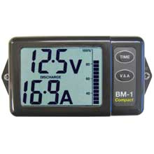 CLIPPER Bm-1cg battery monitor compact grey