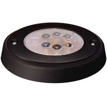 Innovative Lighting 6-led oval recess light w/ black case