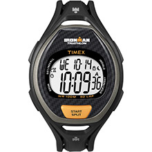 TIMEX Ironman 50 lap men fts digital watch black/orange