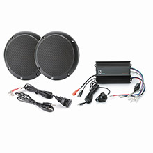 POLY-PLANAR MP3-KIT4-B MP3 Input/MA4055B/ME-60 Kit - Black
