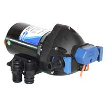 JABSCO Automatic water system pump 3.5gpm 40psi 12vdc