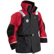 FIRST WATCH Ac-1100 flotation coat - red/black - medium