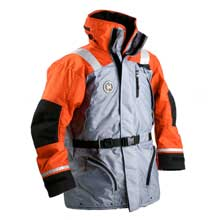 FIRST WATCH Ac-1100 flotation coat - orange/grey - x-large
