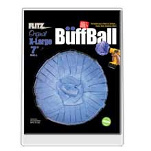 FLITZ Buff ball - extra large 7inch - blue