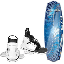 AIRHEAD Watersports Fluid Wakeboard w/Boss Performance Bindings