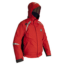 MUSTANG SURVIVAL Catalyst Bomber Jacket - Small - Red/Black