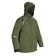 MUSTANG SURVIVAL Catalyst Coat - Small - Olive/Black