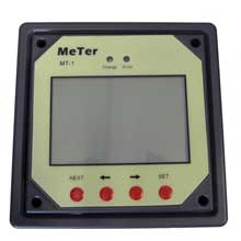 GANZ ECO-ENERGY Remote meter for dual charge controller