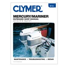 CLYMER Mercury 3.9-135 hp outboards (1964-1971)