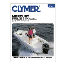 Clymer Mercury 3-275 hp outboards (1990-1993)