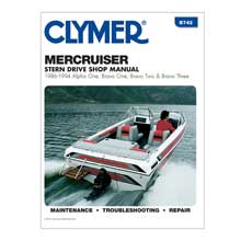 CLYMER Mercruiser alpha one, brave one, two three stern drives (1986-1994)