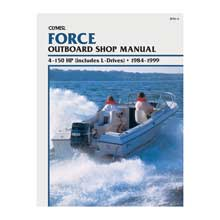 CLYMER Force 4-150 hp outboards (includes l drives) (1984-1999)