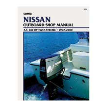 CLYMER Nissan 2.5-140 hp two-stroke outboards (1992-2000)