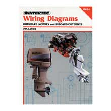 CLYMER Wiring diagrams outboard motors and inboard/outdrives (1956-1989)