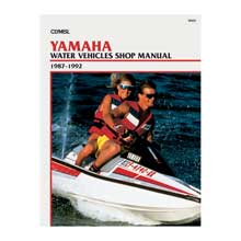 Clymer Yamaha personal watercraft (1987-1992)