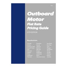 Clymer Outboard motor flat rate manual
