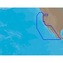 C-MAP NTplus NA-C612 - Ensenada, MX to Cape Flattery, WA - Furuno FP-Card NTplus Wide