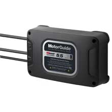 MotorGuide 210 dual bank 10a battery charger %2D 5 and 5 amps
