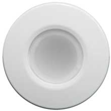 LUMITEC Orbit - flush mount down light - white finish - 4 color blue/red/purple/white non dimming