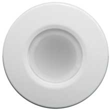 LUMITEC Orbit - flush mount down light - white finish - 2-color blue/white dimming