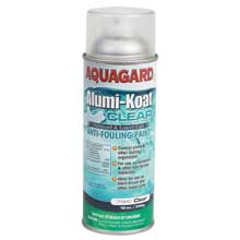 AQUAGARD Outboard outdrive spray paint clear 12 oz