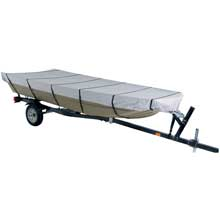 DALLAS MFG CO. 300d jon boat cover - model c - fits 16ft w/beam width to 75inch