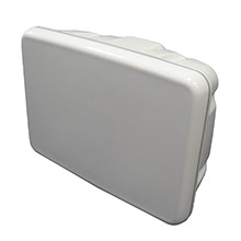 SCANPOD Slim helm pod - up to 8 inch display - white