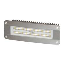 LUMITEC Maxillume2 %2D high power and flush mount flood light %2D brushed finish %2D white dimming