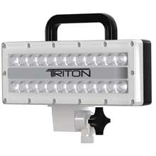 LUMITEC Triton high power and pole knuckle mount flood light white finish white non dimming
