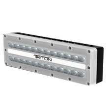 LUMITEC Triton - high power/surface mount flood light - white finish - white non dimming