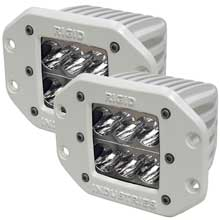 RI Rigid Ind M-series flush mount - dually d2 led pair - wide