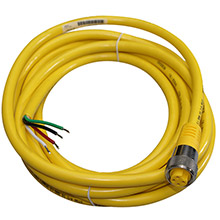 MARETRON Mini Power Cordset - 2 Power 2 Ground To Female - 5 Meter