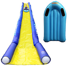RAVE Sports Turbo chute   water slide lake package w/turbo sled