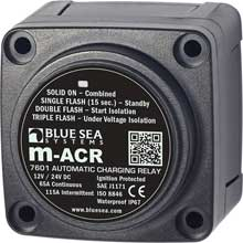 BLUE SEA 7601 dc min automatic charging relay 65a