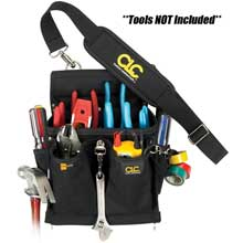 CLC WORK GEAR 5508 20 pocket pro electricianfts tool pouch