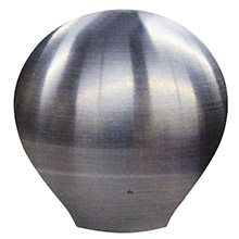 SCHMITT ONGARO Shift knob - 1- 1/2 inch - smooth ss finish