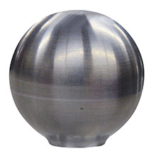 SCHMITT ONGARO Shift knob - 1- 7/8 inch - smooth ss finish