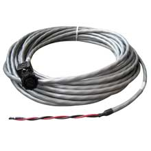 KVH Power cable f/tracvision 4, 6, m5, m7 and hd7 - 50 ft